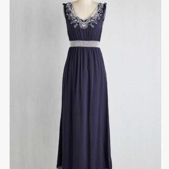 Sunny Girl Dresses New Embroidered Maxi Dress Poshmark